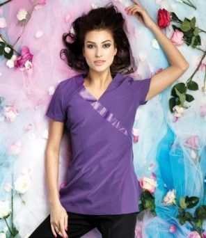 Premier Ladies Rose Short Sleeve Tunic